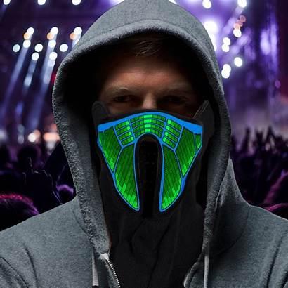 Mask Face Sound Masks Activated Half Detect