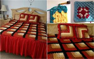 Mitered Granny Square Crochet Pattern Free