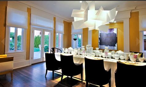 Get The Look Dramatic Dining Room  Popsugar Home