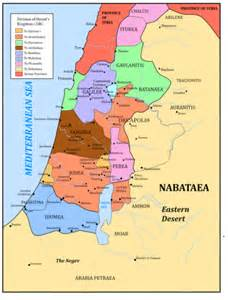 Map Judea Samaria and Galilee