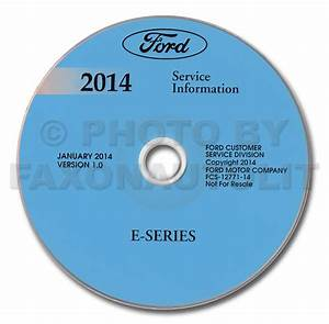 2014 Ford Econoline Wiring Diagram Manual Original Van