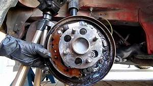 How To Replace Rear Brake Shoes In Toyota Yaris