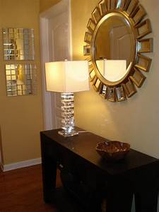 Home Goods Mirror and Home Goods Lamp - Transitional