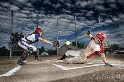 Softball Action Portraits