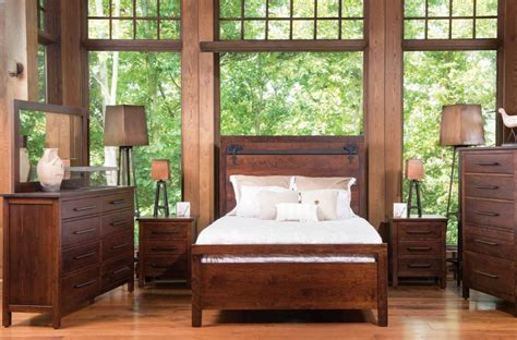 barn door bedroom set wesley barn door bedroom set countryside amish furniture 4318