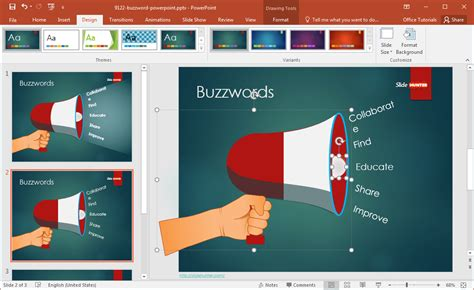 buzzword powerpoint template