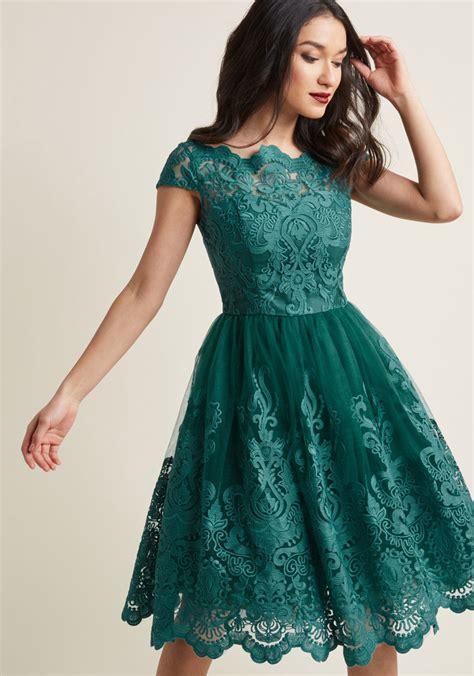 gaun baby chi chi exquisite elegance lace dress in lake