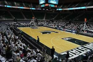 Breslin Center Seating Chart Breslin Center Section 124 Rateyourseats Com