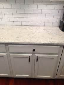 kitchen backsplash with white cabinets thornapple kitchen before and after romano blanco granite white subway tile backsplash gray