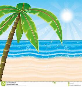 Vector Illustration. Beach. Stock Vector - Image: 53903670