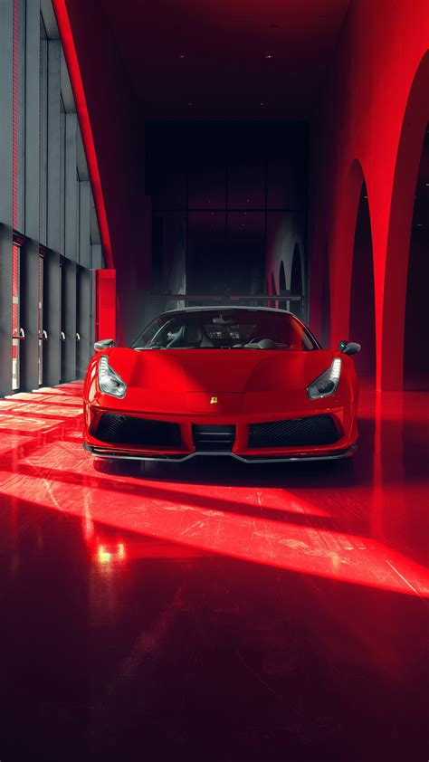 2018 Pogea Racing Fplus Corsa Ferrari 488 Gtb Wallpapers