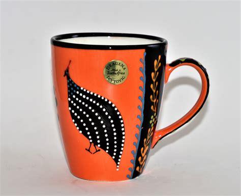 304 stainless steel african black wood handle coffee tamper powder hammer 41/49/51/53/57/57.5/58/58.35mm coffee accessories. Ntaba African Coffee Mugs - Orange - A Taste of Africa