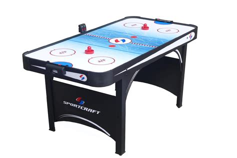 sportcraft  electronic air hockey table  table