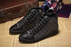 Sneakers Louis Vuitton Homme : chaussures de marche en ville louis vuitton echiquier ~ Nature-et-papiers.com Idées de Décoration