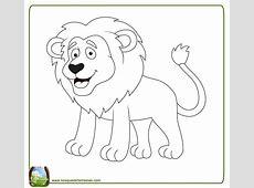 99 DIBUJOS DE LEONES ® Imágenes de leones para colorear