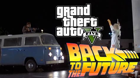 [vo] Back To The Future In Gta 5! Remake  Libyans! Youtube