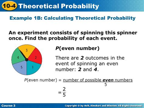 Theoretical Probability  Ppt Download