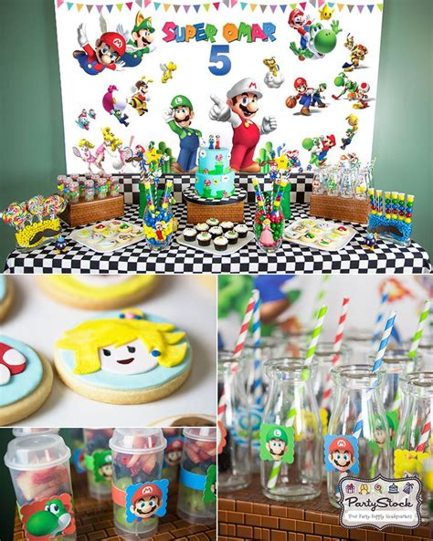 17 Best Images About Super Mario Party Ideas On Pinterest