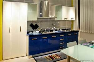 pictures of kitchens modern blue 1943