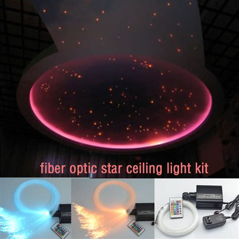 fibre optic ceiling lighting kit coloful led fiber optic ceiling light kit 0 75mm