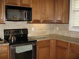 Traditional kitchen tile backsplash ideas colorful for Kitchen cabinets lowes with tile wall art ideas