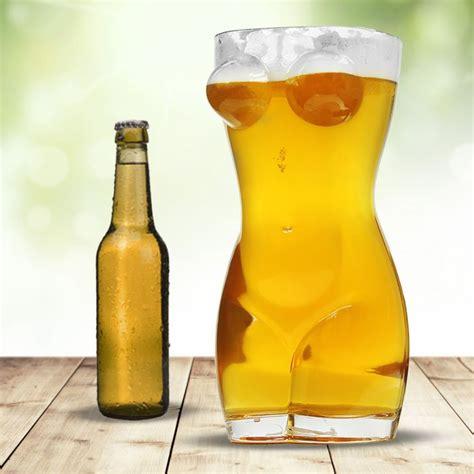 sexy bierglas xxl frauentorso zum trinken