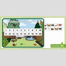 * New * Minibeastthemed 1 To 20 Number Grid  Eyfs, Early