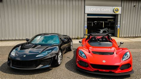 Experience Two Insane Lotus Cars!