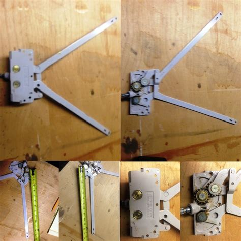 awning window operator parts  awning unit assembly  truth window hardware
