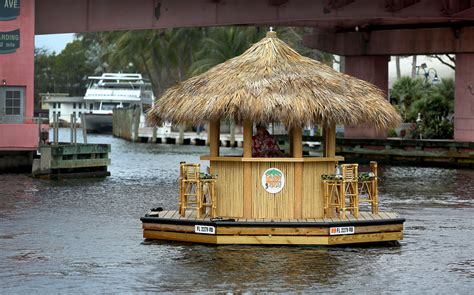 Tiki Hut Florida by Cruisin Tiki Floating New River Built By Fort