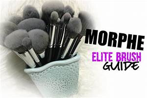 New  Morphe Elite Brushes Review