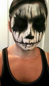 Special effects makeup Corpse, demon, skeleton face paint ...