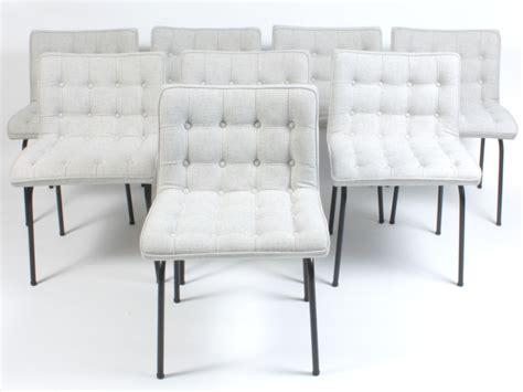 chaises capitonnées galerie alexandre guillemain artefact design rené jean
