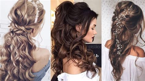 long hair wedding hairstyles youtube