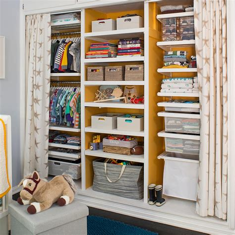 The Closet Shop by White Elfa D 233 Cor Child S Closet The Container Store