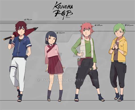 Konoha Rgb Next Gen! By Tsurugami