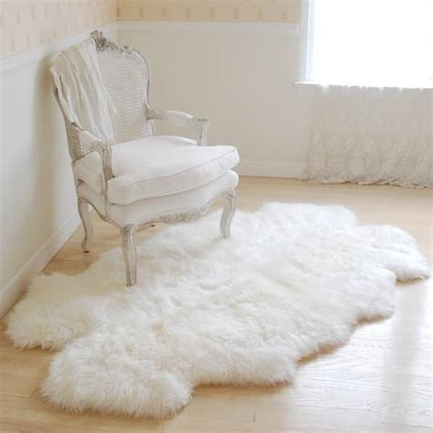 shabby chic fuzzy blanket sheepskin throw rug at rachel ashwell shabby chic couture