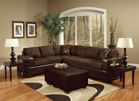 living room with brown furniture 4 furniture design ideas
