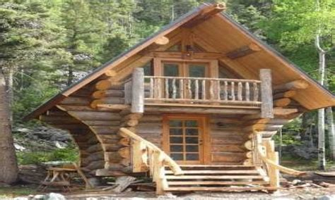 Small Log Cabin Designs Little Log Cabins Plans, Cool