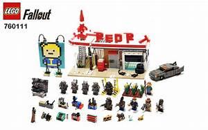 Lego Fallout - Modular Red Rocket Station Settlement Flickr