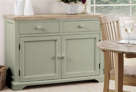 Painted Kitchen Sideboards by Statement Furniture Florence Green Matt Painted
