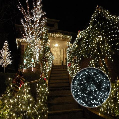 led cool white christmas wedding party outdoor