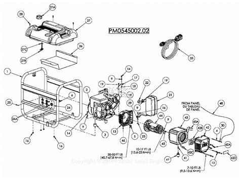 powermate formerly coleman pm0545002 02 parts diagram for