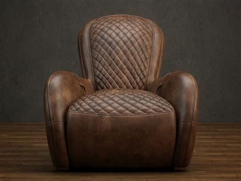 classic leather reclining sofa  model dsmax files