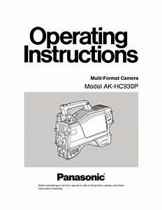 Ak-hc930p Manuals