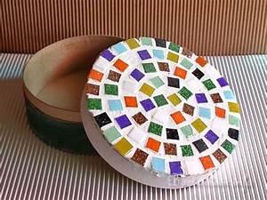 Mosaiksteine Auf Holz Kleben : kostenlose bastelideen mosaik spannschachtel ~ Markanthonyermac.com Haus und Dekorationen