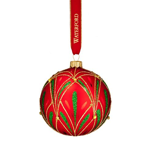 2016 nostalgic christmas eve ball ornament discontinued waterford holiday heirlooms us