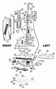 Oreck U2160hhtarg Vacuum Parts