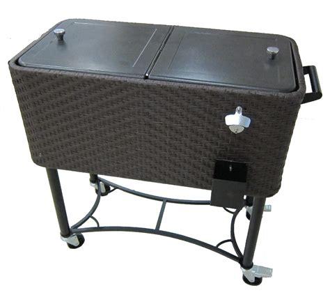 patio cooler cart patio patio cooler cart for outdoor tools ideas