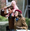 Brad Pitt and Marion Cotillard on set of Five Seconds Of ...